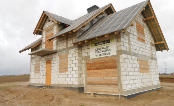 Budowa domu Pępowo