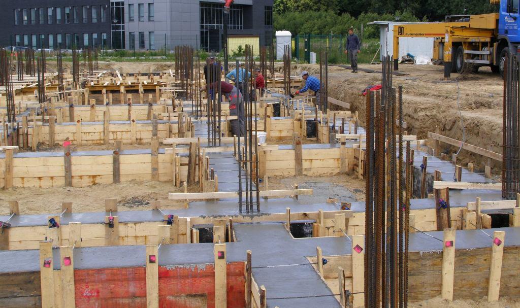 Betonowanie konstrukcji