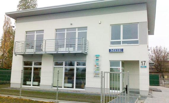 Budowa biurowca MEIE Michalak 04