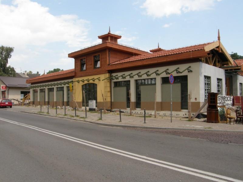 Budowa hali targowej Gdańsk Oliwa 03