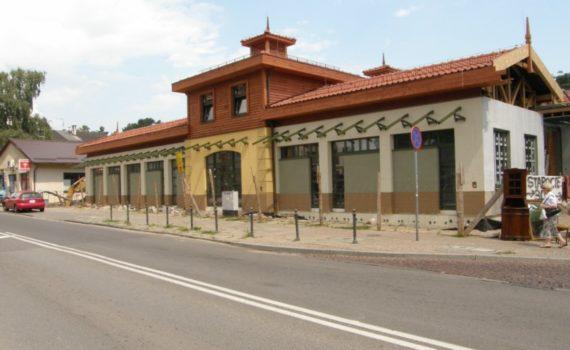 Budowa hali targowej Gdańsk Oliwa 04
