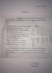 Budowa domu Mezowo Referencje