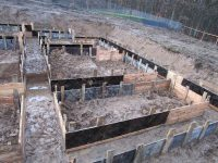 Budowa domu Lniska 01