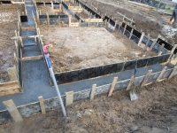 Budowa domu Lniska 06