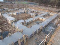 Budowa domu Lniska 08