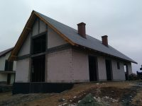 Budowa domu Lniska 35