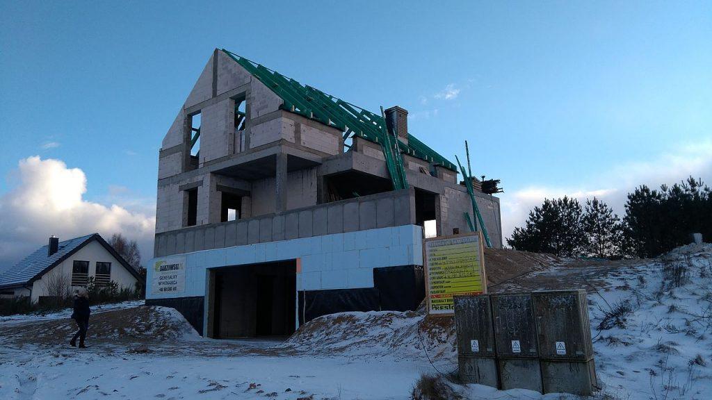 Budowa domu Gdynia Chwarzno 132