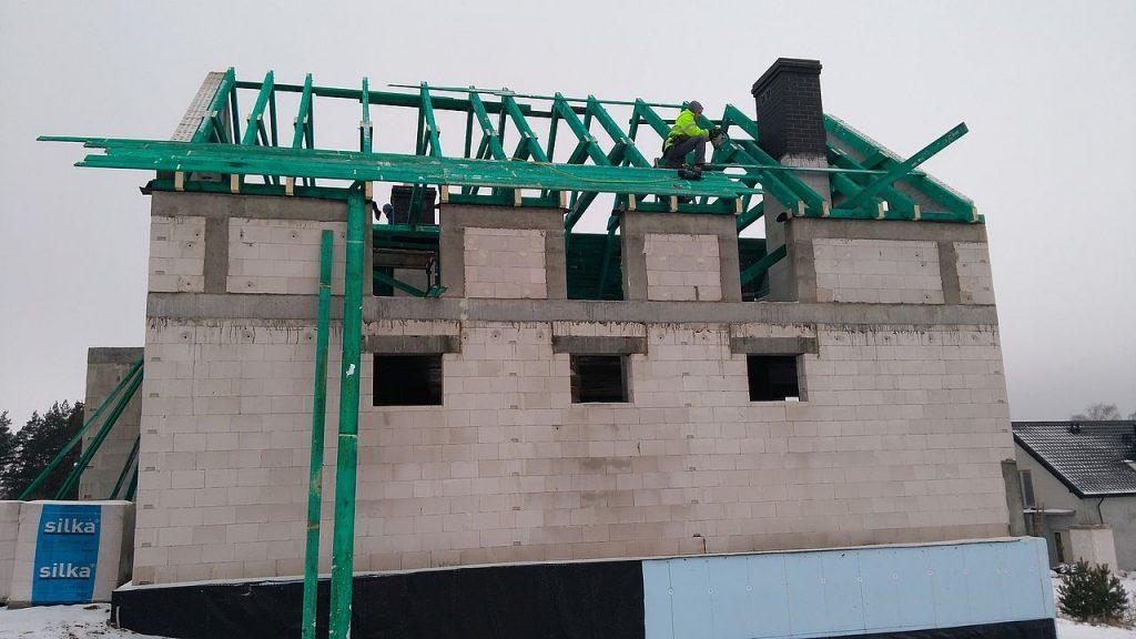 Budowa domu Gdynia Chwarzno 141
