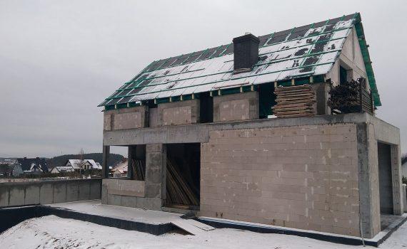 Budowa domu Gdynia Chwarzno 144