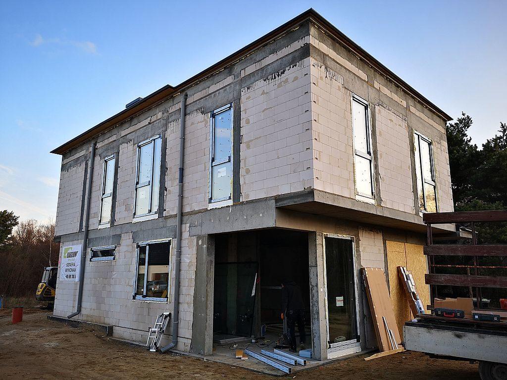 Budowa domu Kiełpinek 114