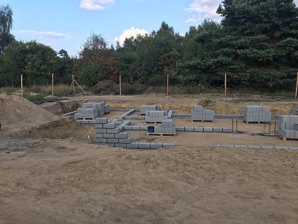 Budowa domu Kiełpinek 12
