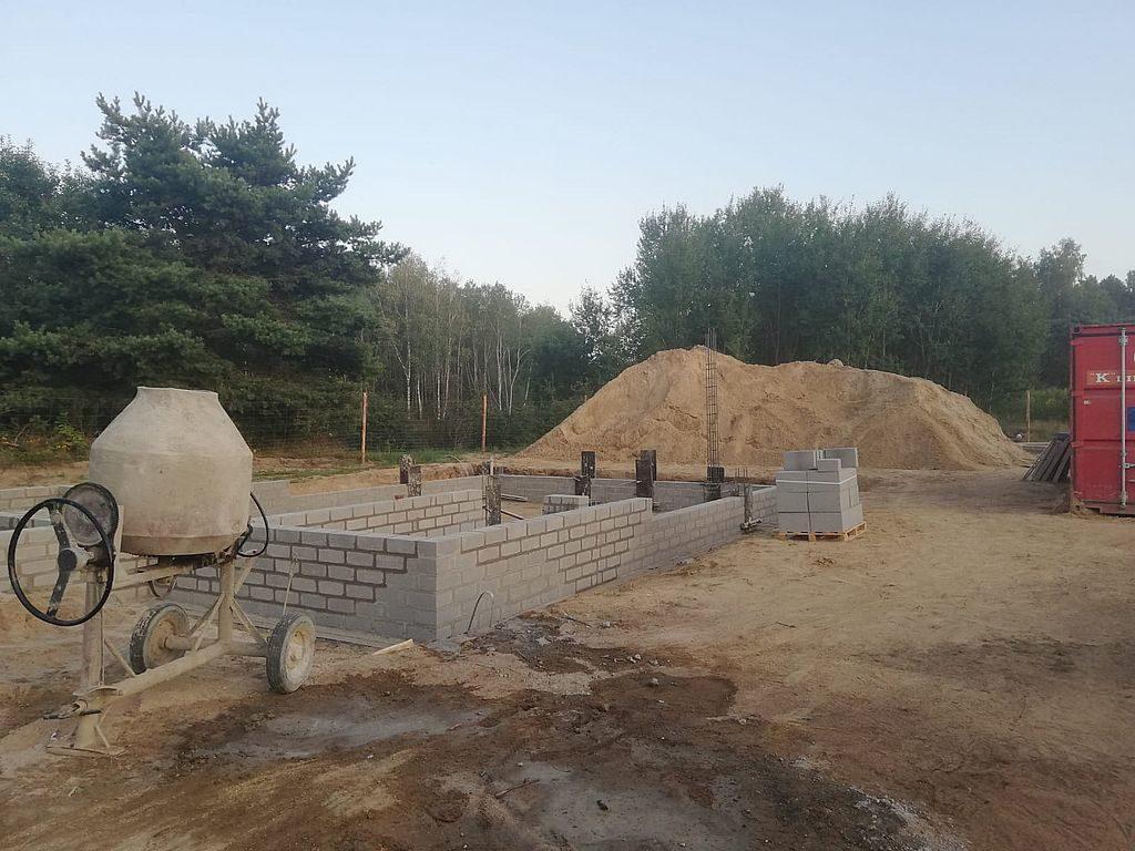Budowa domu Kiełpinek 14