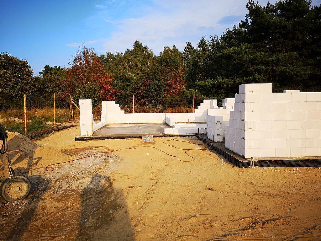 Budowa domu Kiełpinek 21