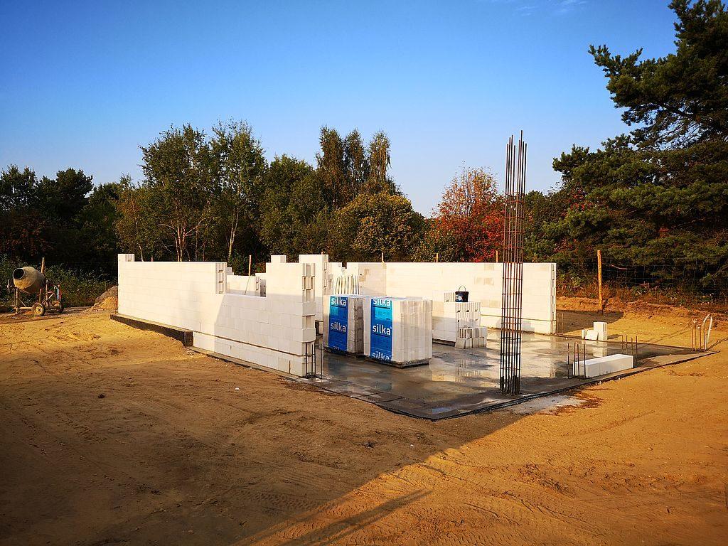 Budowa domu Kiełpinek 22