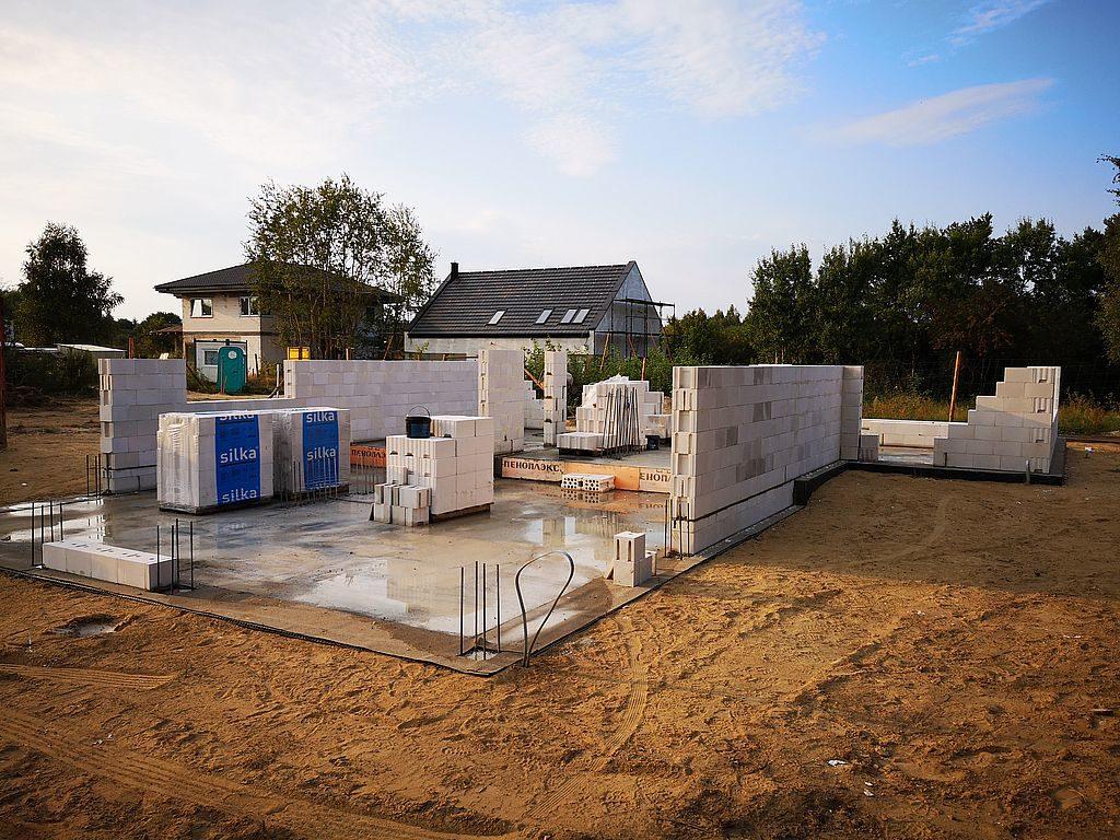 Budowa domu Kiełpinek 23