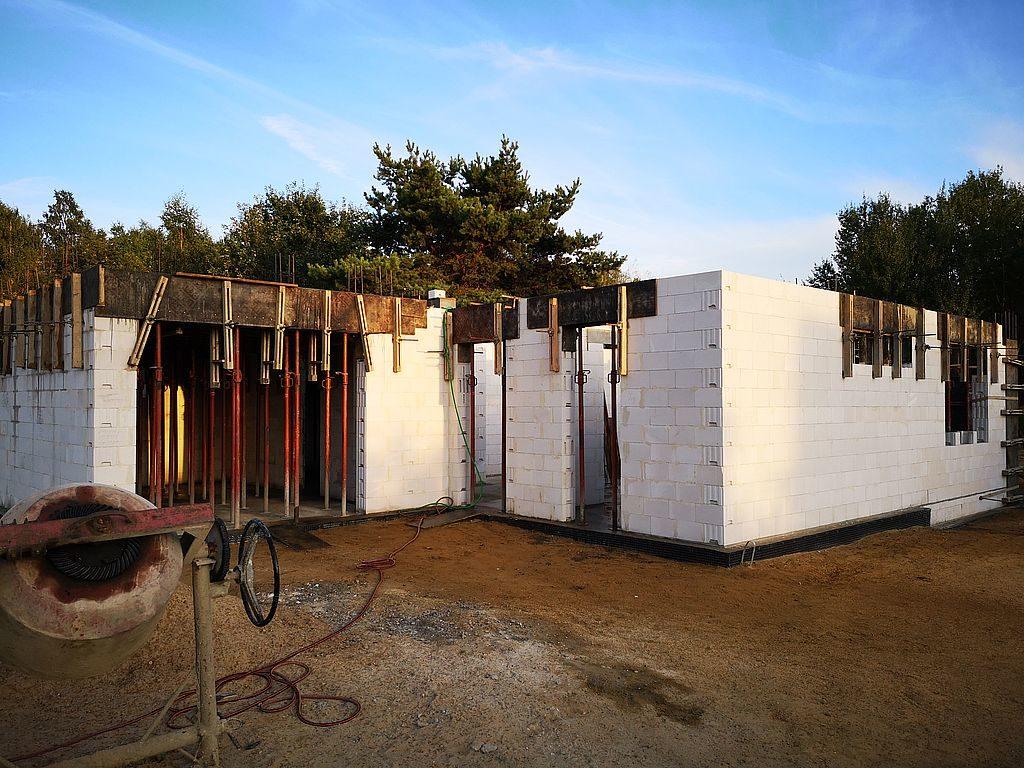 Budowa domu Kiełpinek 38