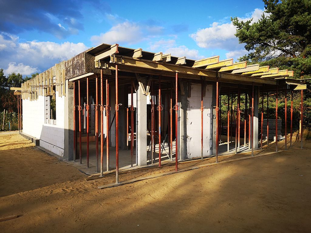 Budowa domu Kiełpinek 42