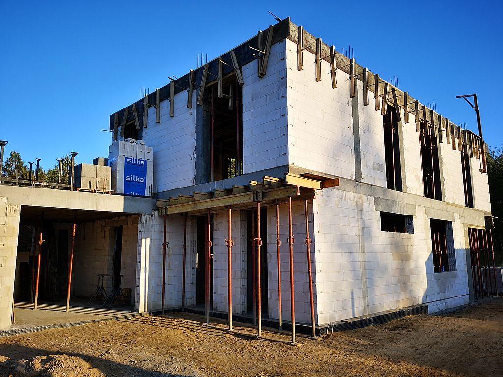 Budowa domu Kiełpinek 73